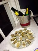 champagne oyster