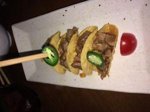 Waygu tacos